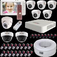 Комплект видеонаблюдения 720p NOVIcam для дома / коттеджа (ver.2104) - Видеонаблюдение Novicam в Екатеринбурге